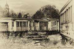 railway Museum - III (Roberto Defilippi) Tags: museum train railway piemonte museo treno hdr rodeos ferrovia 2013 savigliano niksoftware nikond300 photoshopcs6 photomatixpro42 robertodefilippi