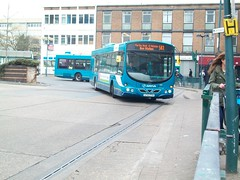The Volvo that once was at Guildford (rick421) Tags: buses eclipse volvo route wright sb3 stevenage pva arriva b7l lf02