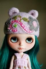 Riley in Light Pink & Gray
