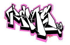 REMS ATV (REMS ATV) Tags: pink art graffiti atv piece blinky scate rems alltimevillan ceito