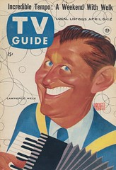 TV Guide April 6-12, 1957 (The Pie Shops Collection) Tags: television vintage magazine tv 1957 tvguide lawrencewelk