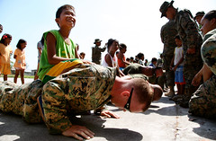 Push Up, Marine Corps! (United States Marine Corps Official Page) Tags: ohio japan philippines marines newark ph marinecorps tarlac capas 3rdmarinedivision servicemembers armedforcesofthephilippines philippinemarinecorps iiimef 12marines iiimarineexpeditionaryforce danielgreer tarlacluzon courtneygwhite mcipac marinecorpsinstallationspacific exercisebalikatan2013 jeffreyterry 12marineregiment redentorpairat jeffersonacosta aaronblackstone