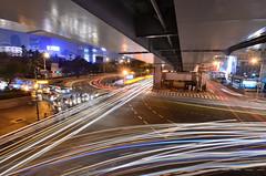 2013.04.19 台北 / 台北車站 (MaxChu) Tags: taiwan taipei 台灣 台北 lighttrail 台北車站 市民大道 承德路 車軌