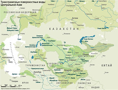 Transboundary surface waters in Central Asia /      (Zoi Environment Network) Tags: china pakistan lake afghanistan nature water ecology river flow asia cross iran russia map border surface countries area environment caspian geography tajikistan boundary uzbekistan centralasia kazakhstan kyrgyzstan share aral territory  turkmenistan hydrology       balkhash syrdarya     transboundary amudarya               centralasiamountains