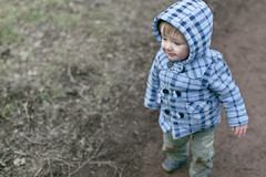 Ben (-The Wickerman-) Tags: blue canon 50mm woods ben walk f14 coat 5d wee tartan wickerman