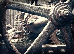 Sloss Furnaces 2013, geared rain (holga) (divemasterking2000) Tags: industry pig al birmingham iron industrial alabama landmark historic national april furnace ore apr birminghamal ironore sloss blastfurnace smelting pigiron furnaces slossfurnaces 2013 blastfurnaces