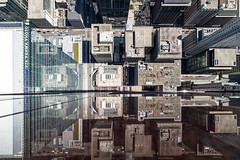 2060721. Take a moment to reflect on the beauty of what lies below before you jump. (Vik Pahwa Photography) Tags: aerial aerialphotography architecture lookingdown reflection skyscraper toronto vikpahwaphotography vikpahwacom vertigo urban perspective high