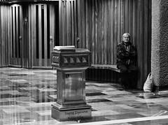 think (HappyPaleta) Tags: church iglesia whiteandblack phothography seor