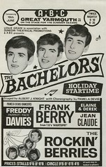 Play-bill 1965 (Mrs Fogey) Tags: playbill show entertainment concert summer seaside norfolk greatyarmouth thebachelors pameladevisdancers freddiedavies frankberry elaineandderek jeanclaude therockinberries theatre