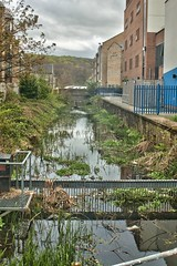 Huddersfield Narrow Canal, Huddersfield University, jcw1967 (2) (jcw1967) Tags: huddersfield uk 2014 huddersfieldnarrowcanal narrowcanal canal narrow historical industrial heritage industry hdr oloneo ope