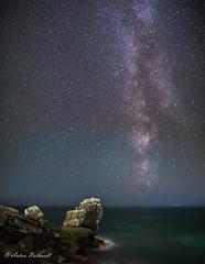 Milky Portland 2 (JustAnotherCanonOperator (JACO)) Tags: galaxy portlandbill astronomy stars samyung24mm meteor pulpitrock perseids night milkyway astro