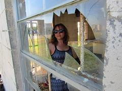 IMG_4886 (halffullpl) Tags: pattylebedhessphotos windows patty model glass break