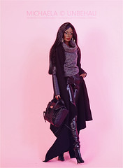 Rayna Rare Jewel (Michaela Unbehau Photography) Tags: rayna rare jewel fr fr2 nuface black leather fashion royalty integrity toys michaela unbehau fashiondoll doll dolls photography mannequin mode puppe fotografie