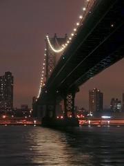 Manhattan Bridge (john.blake89) Tags: nikon e5700 5700 night bridge bridges water brooklyn ny