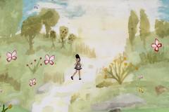 Wandering the wonder.... (ErikoLeo) Tags: art gallery galerie exhibition flickrlovers secondlife secondlifesecondliferegionlea12secondlifeparcelawatercolourwandersecondlifex78secondlifey139secondlifez26