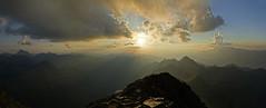 Auf der Hochwildstelle 2747m (ernst.weberhofer) Tags: hochwildstelle ennstal sonnenuntergang sunset aich schladming niederetauern dachstein