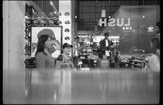 HSUL, Yorkdale Shopping Centre, Toronto (Richard Wintle) Tags: foma fomapan 200 adonal adox blackandwhite bw monochrome film 135 35mm 38mm f35 canon sureshot sureshotmax toronto ontario canada yorkdale mall shoppingcentre