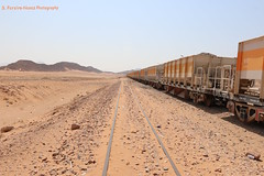 Potash Transportation in the railroad, Wadi Rum, Jordan (ssspnnn) Tags: potash fertilizer fertilizante adubo abono wadirum ferrocarril trem train quimico snunes spnunes spereiranunes jordan jordania canoneos70d