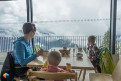 Lunch with a view (HendrikMorkel) Tags: austria family sonyrx100iv vorarlberg sterreich bregenzerwald mountains alps alpen berge panoramawegbezau panoramawegbaumgartenbezau