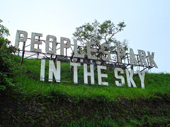 People's Park in the Sky (lukedrich_photography) Tags: sony dscw55 sonydscw55 hdr philipines   pilipinas     republikangpilipinas republicofthephilippines asia southeast southeastasia pacific island peoplesparkinthesky peoplespark urban park tagaytay cavite sign signage letters