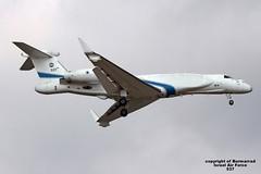 537 LMML 12-09-2016 (Burmarrad) Tags: airline israel air force aircraft gulfstream g550 nachshon aitam registration 537 cn 5037 lmml 12092016