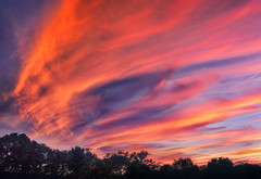 Paintbrush Sky (zuni48) Tags: skyscape clouds sunset sky maryland zunikoff jarrettsville orange purple
