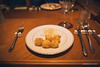 Potato Balls (reubenteo) Tags: northkorea dprk food lunch dinner steamboat kimjongun kimjongil kimilsung korea asia delicacies