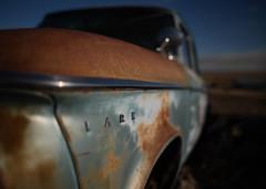Lark (*wildbio*) Tags: canon lark rust vintage vintagecar blue exterior car oldcar 28mm wideangle bokeh blastfromthepast studebaker neutraldensity