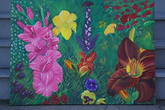 Field of flowers (candiceshenefelt) Tags: art painting work flowers floral creative imagination