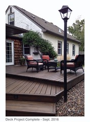 Deck Project (erin lanigan) Tags: deck patiofurniture stain