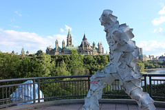 Parliament and Sculptures (Caleb Ficner) Tags: ottawa calebficner parliament parliamenthill parliamentofcanada peacetower library sculpture
