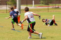 Giants vs. Broncos (YMCA) (TrueLifePixels) Tags: football flag junior kids youth ymca sports athletics game leaguecity tx usa