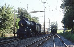 1977-09-11, CFF/BAM, Morges (Fototak) Tags: 2 train switzerland eisenbahn railway bam dampflok vapeur 2978 sbbcffffs c56