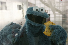 40 Jahre Sesamstrasse (PIKTORIO) Tags: berlin germany tv cookie theatre puppet character sesamestreet filmmuseum kekse krmelmonster sesamstrasse kruemelmonster fernsehmuseum kinemathek calinago