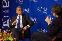Kishore Mahbubani and Ian Bremmer at Asia Society New York 5