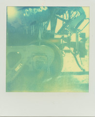 (nownownownow) Tags: polaroid sx70 cool epson impossible px v700 frankenroid