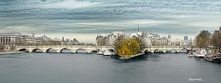 Paris - Le Pont Neuf - l'Ile de la Cité