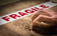 Fragile (bonaphoto) Tags: noir hand emotion finger board tape human violence scratch fragile canoneos7d 2470lii