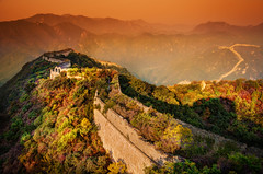 A moody evening at the Great Wall (Stuck in Customs) Tags: china travel beijing stuckincustoms treyratcliff