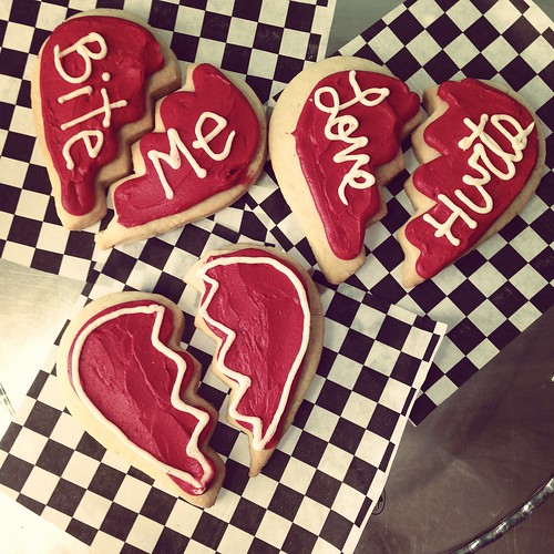 Broken Heart Cookies IG