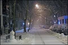 """Snowman""  Brooklyn Heights, NYC (TravelsWithDan) Tags: nyc snow newyork snowman ngc brooklynheights blizzard worldtrekker"