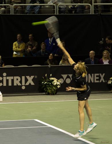 Andy Roddick - Steffi mid serve