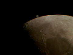 """Occultation of Jupiter Feb 2013 - reappearance • <a style=""""font-size:0.8em;"""" href=""""http://www.flickr.com/photos/44919156@N00/8487290789/"""" target=""""_blank"""">View on Flickr</a>"""
