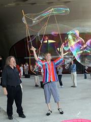 Phaeno Wolfsburg - Seifenblasenfestival