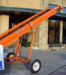 Multitek Conveyor. (dccradio) Tags: wisconsin mall farming equipment machinery ag agriculture wi agricultural farmequipment farmshow marshfield farmmachinery centralwisconsin shoppesatwoodridge marshfieldmall wisconsinfarming machineryshow agshowagricultureshow
