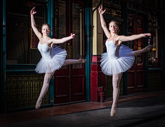 Flying Swans (MartinCPhotos) Tags: uk london zoe nikon ballerina martin market megan 18200 leadenhall d600 2470 d90