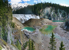 897-10 (Joe-Lynn Design) Tags: park mountain canada national rockymountains yoho waptafalls