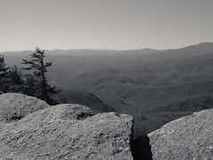 P2242870-1 (VaMedia) Tags: blue white black rock adams north blowing monotone ridge carolina ansel vamedia