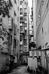 Back Alley 2 (wsifrancis) Tags: winter taiwan olympus taipei    35rc doublex 2013 kodakcinemafilmeastman5222