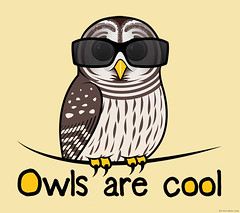 Owls are cool (birdorable) Tags: